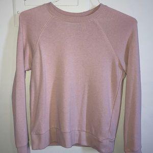 H&M Pale Pink Sweatshirt